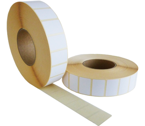 Zebra Labels Z-Perform 1000D (3006307-T) kompatibel, 57mm x 32mm, 4470 Etiketten, 76mm Kern, weiß, eco permanent