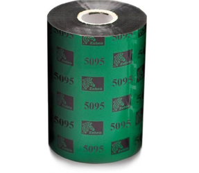 Thermal Ribbon, 5095, Resin, 110mm x 300m, schwarz (15 pro packung)