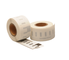 Dymo 99010 kompatible Etiketten, 89mm x 28mm, 130 Etiketten, transparent, permanent