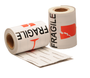 """fragile"", 101,6mm x 76,2mm, 100 Etiketten, permanent"